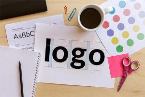Logo design process image