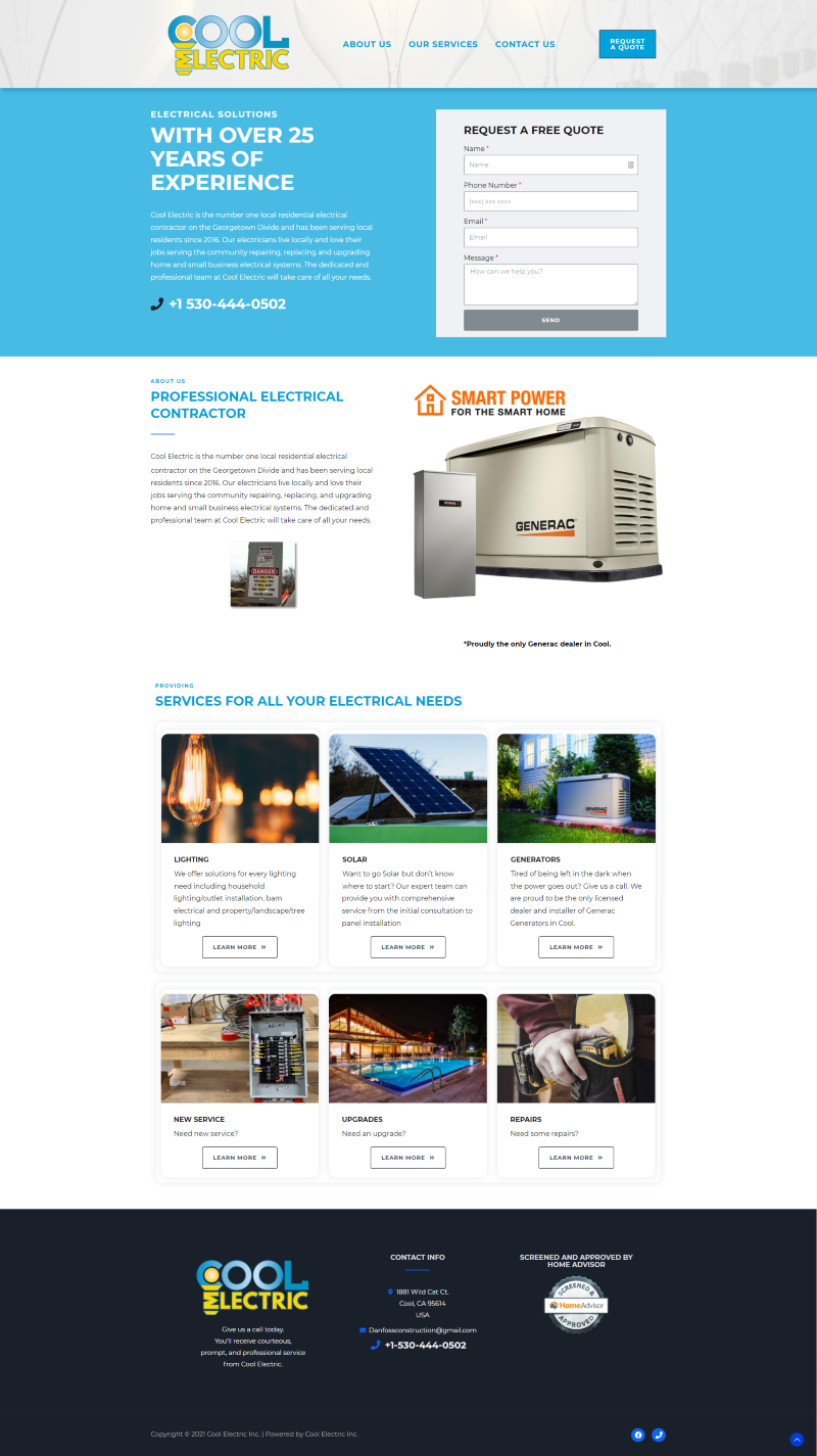Client 14 Main Page